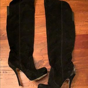 H by Halston Liza Over the Knew Boots